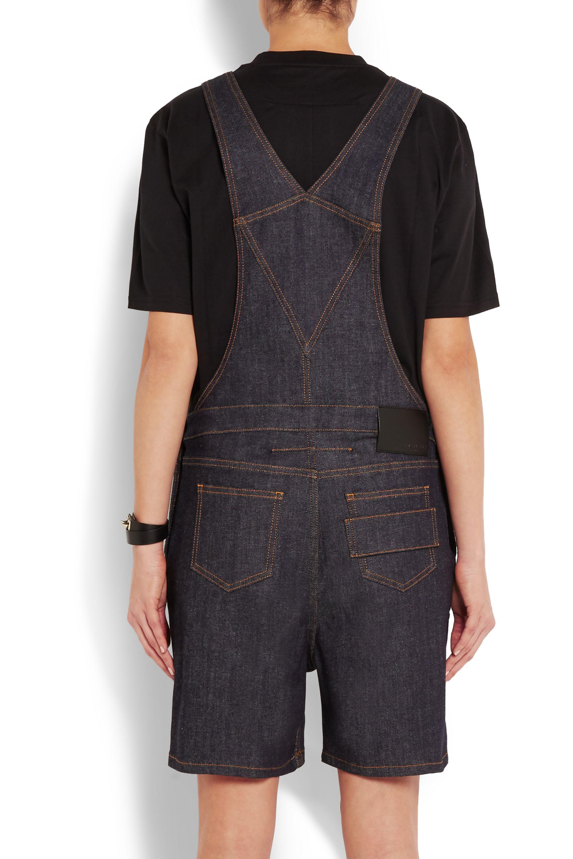 Givenchy Overalls in dark-blue stretch-denim