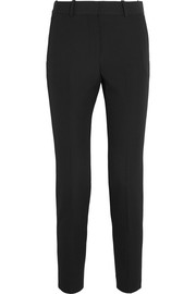 Givenchy Straight-leg pants in black grain de poudre wool