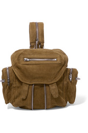 Marti mini textured-nubuck backpack
