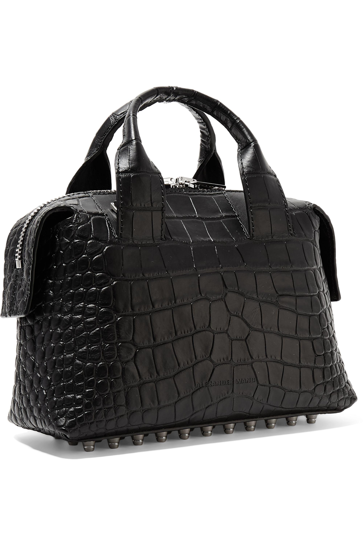 Alexander Wang Rogue small croc-effect leather shoulder bag