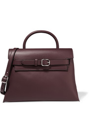 Attica leather shoulder bag