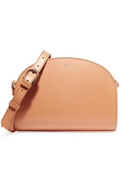 A.P.C. Atelier de Production et de Création Demi-Lune leather shoulder bag