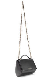 Pandora Box shoulder bag in black leather
