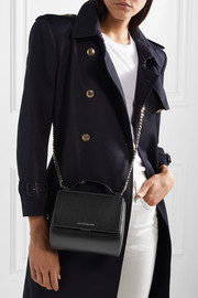 Givenchy Pandora Box shoulder bag in black leather