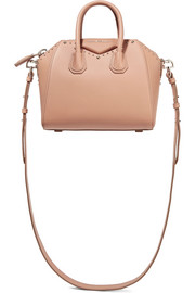 Givenchy Mini Antigona shoulder bag in antique-rose leather