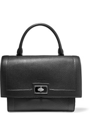Givenchy Small Shark bag in black textured-leather