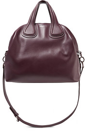 Medium Nightingale bag in burgundy leather