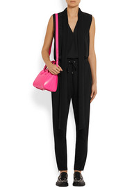 Givenchy Mini Antigona shoulder bag in fuchsia leather