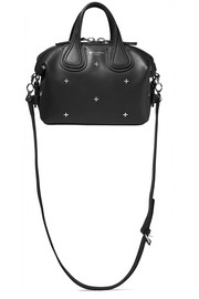 Mini Nightingale bag in embellished black leather