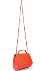 Givenchy Pandora Box shoulder bag in bright-orange leather