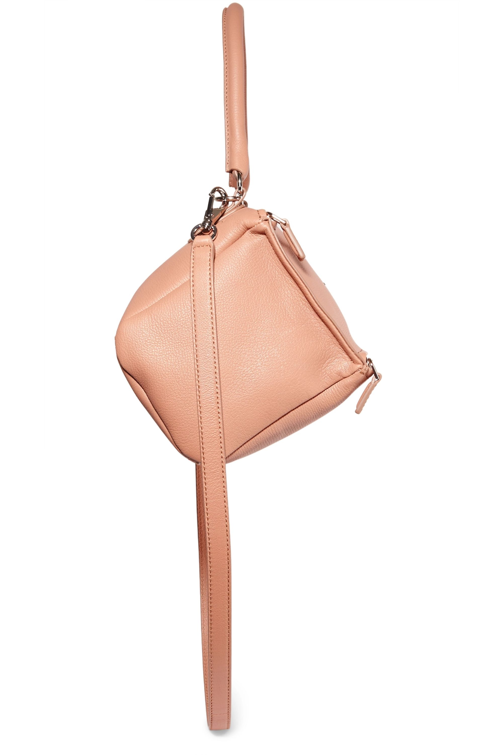 Givenchy Small Pandora shoulder bag in beige textured-leather