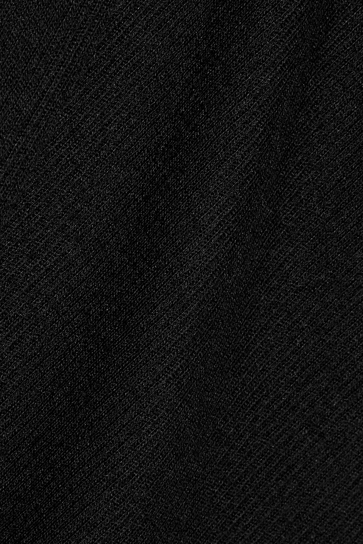 alexanderwang.t Ribbed wool turtleneck top