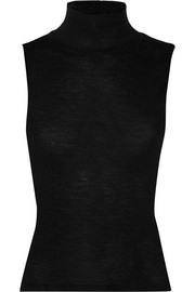 T by Alexander Wang Ribbed wool turtleneck top