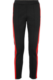 Joseph Two-tone scuba-jersey straight-leg pants