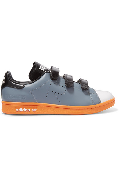 the latest 0e73e eaba8 + Raf Simons Stan Smith Comfort perforated leather sneakers
