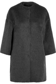 Giambattista Valli Llama and wool-blend coat