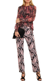 Giambattista Valli Jacquard flared pants