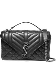 Monogramme quilted leather shoulder bag