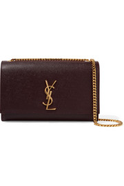 Saint Laurent Monogramme Kate medium textured-leather shoulder bag