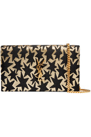 Monogramme medium jacquard shoulder bag