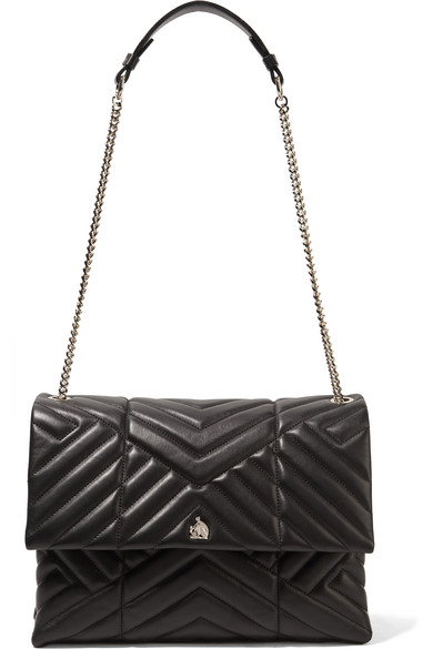 Bag Medium Sugar A com Net Porter Shoulder Lanvin Quilted Leather q4XxOWwPwp