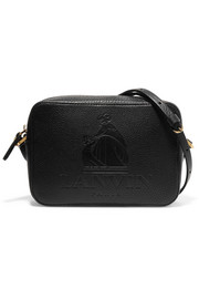 Lanvin So Lanvin embossed textured-leather shoulder bag