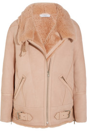 Barrett shearling biker jacket