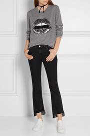 Markus Lupfer Lara Lip Joey sequin-embellished merino wool sweater