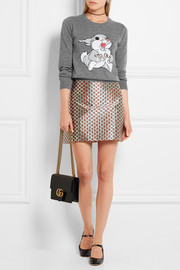 Markus Lupfer Thumper sequin-embellished merino wool sweater