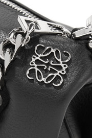 Punk Elephant leather keychain