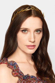 Gold-plated headband