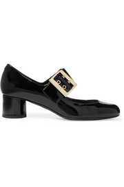 Lanvin Patent-leather Mary Jane pumps