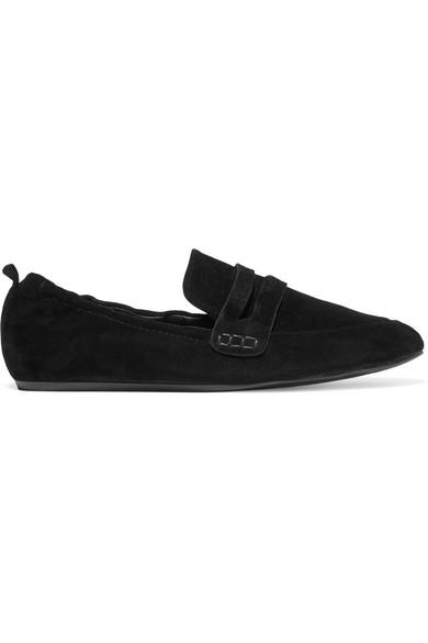 Lanvin - Suede Slippers - Black