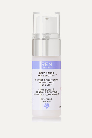 REN Skincare - Instant Brightening Beauty Shot Eye Lift, 15ml - Colorless