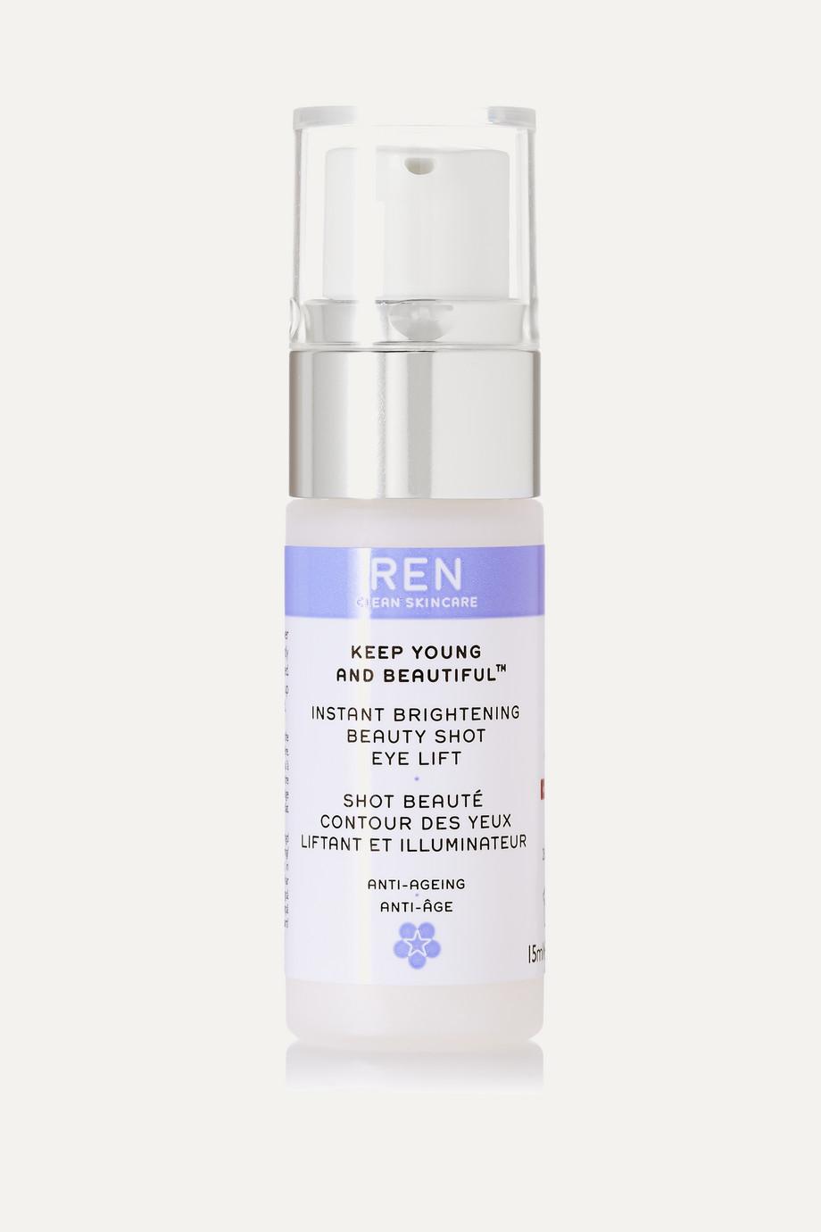 Instant Brightening Beauty Shot Eye Lift, 15ml, by Ren Skincare