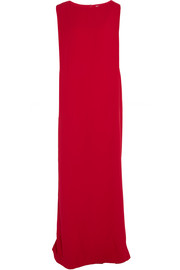 Chalayan Oversized crepe column maxi dress