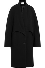 Chalayan Oversized wool-blend felt coat