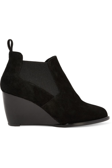 Olav suede wedge ankle boots
