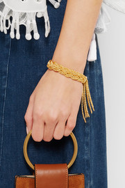 Aurélie Bidermann Miki gold-plated bracelet