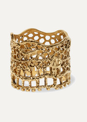 Aurélie Bidermann Lace gold-plated ring