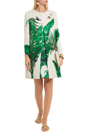 Dolce & Gabbana Embellished embroidered cotton and silk-blend brocade coat
