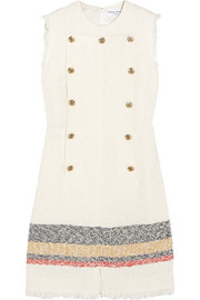 Sonia Rykiel Embellished bouclé-tweed mini dress
