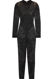 Balmain Stretch-lace jumpsuit