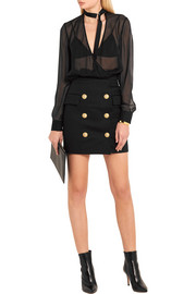 Balmain Cotton mini skirt