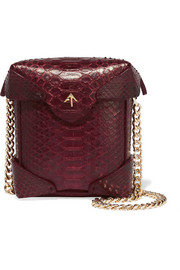 Pristine micro python shoulder bag