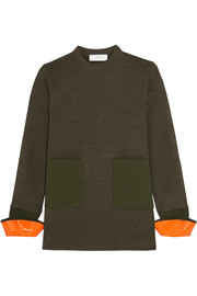 Toga Wool-blend jersey sweater