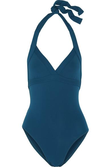 Eres - Les Essentiels Cassis Halterneck Swimsuit - Blue