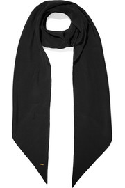 Saint Laurent Silk crepe de chine scarf