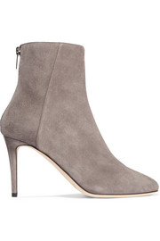 Jimmy Choo Duke 85 suede ankle boots