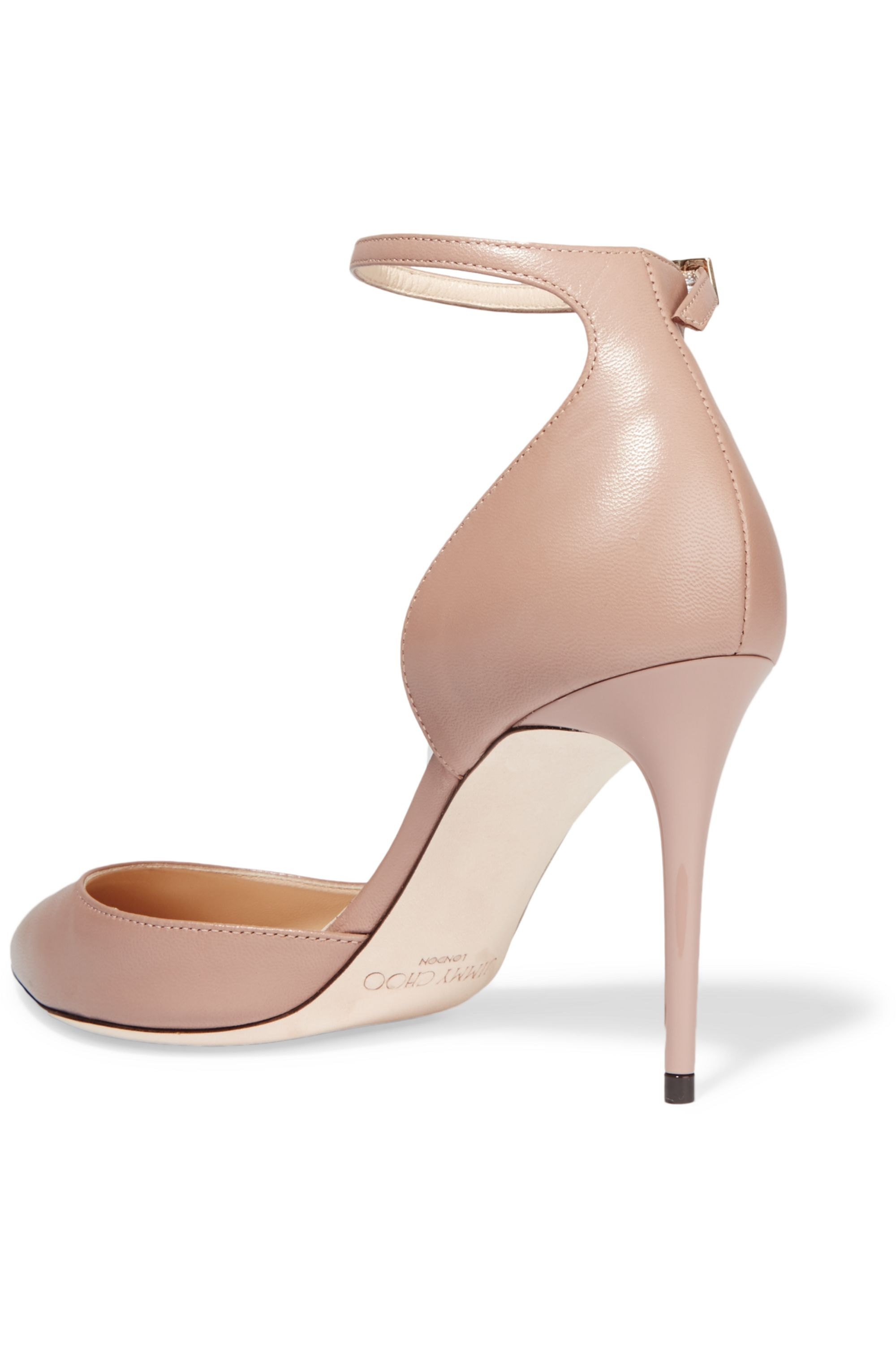 Jimmy Choo Lucy 85 leather pumps